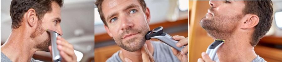 zastrihávač brady a fúzov